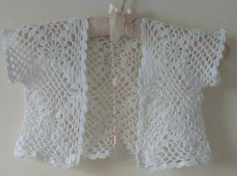 Download Communion Crochet Bolero immediately at Makerist