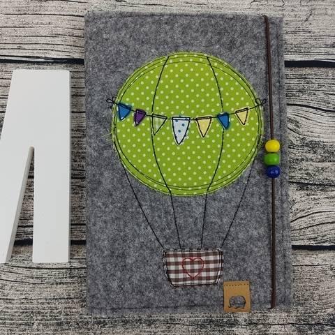 Stickdatei Wimpel Ballon Heißluftballon Doodle Wolken Regenbogen Fliegen bei Makerist sofort runterladen