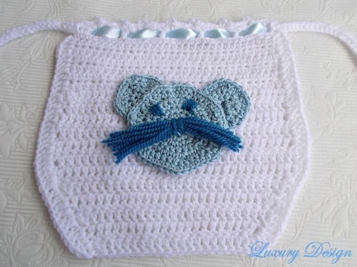Babylatz Baby Style No.4 - Häkelanleitungen bei Makerist sofort runterladen