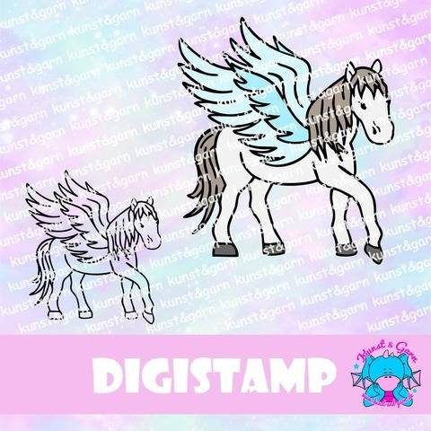 Digistamp Pegasus bei Makerist sofort runterladen