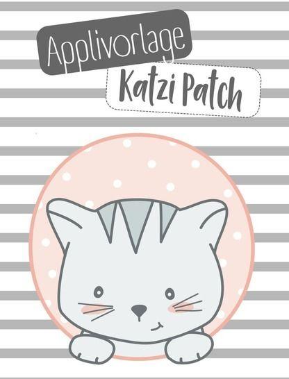 Applikationsvorlage Katzi Patch bei Makerist sofort runterladen