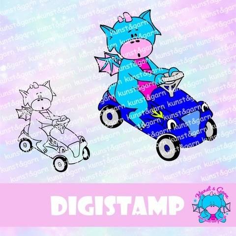 DigiStamp Bobbycar-Lilo bei Makerist sofort runterladen