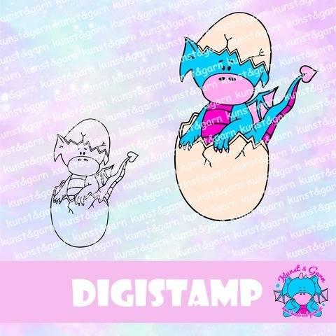 DigiStamp Eierschalen-Lilo bei Makerist sofort runterladen