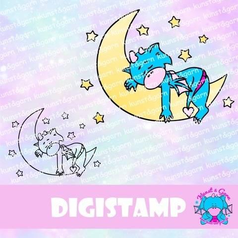DigiStamp Gute-Nacht-Lilo bei Makerist sofort runterladen
