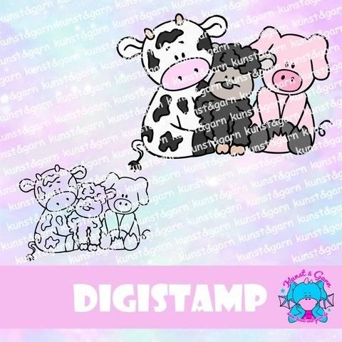 DigiStamp Animalfriends bei Makerist sofort runterladen