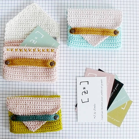 Download Card holder - crochet pattern immediately at Makerist