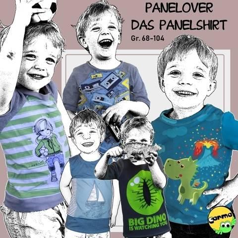 Panelover Grösse 68-104 Das Shirt bei Makerist sofort runterladen