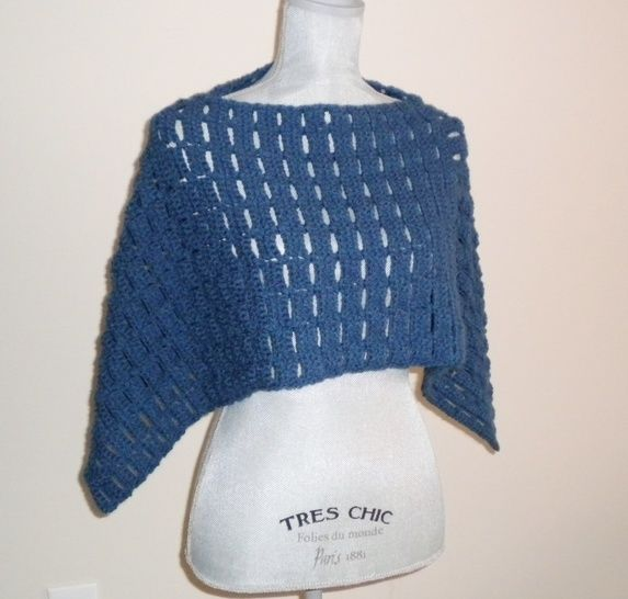 Carefree Capelet Crochet Pattern