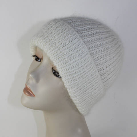 Download Fluffy 1x1 Rib Beanie Hat immediately at Makerist