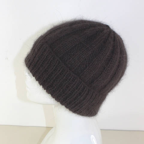 Download Fluffy 3x3 Rib Beanie Hat immediately at Makerist