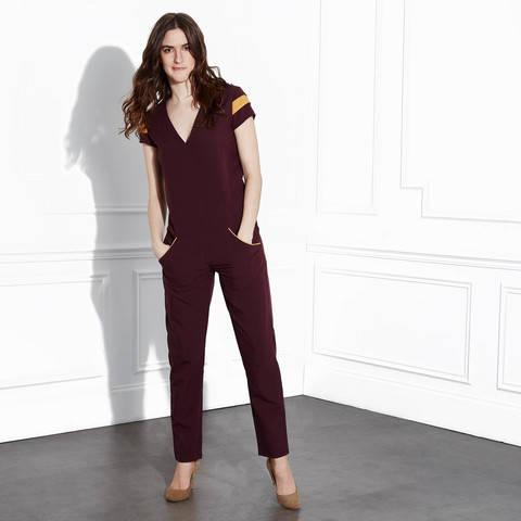 Télécharger Combinaison Petra - Patron couture - Femmes taille 34 à 46 tout de suite sur Makerist
