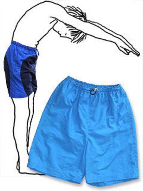 Badeshorts, Sporthose Gr.140-188 * Schnittmuster und Nähanleitung bei Makerist