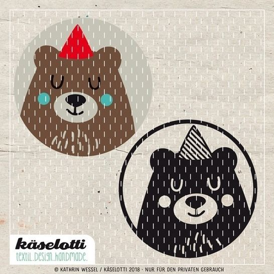 Download cutting file bubble bear immediately at Makerist