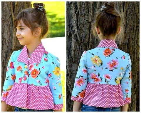 Download Bolero Jacket for Girls - Paris immediately at Makerist