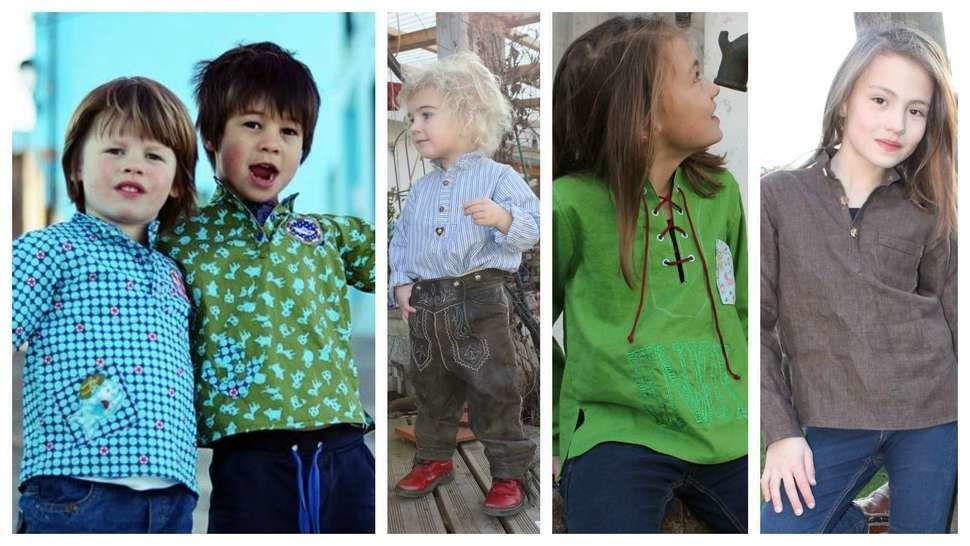 Kinderhemd NIGGL-KIDS Ebook - Nähanleitungen bei Makerist sofort runterladen