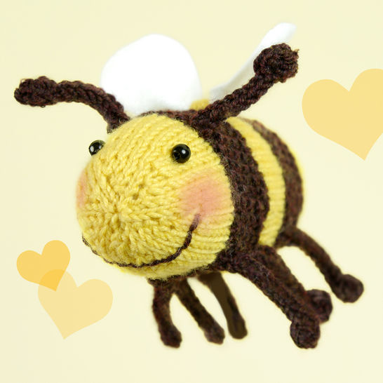 Download Bumble Bee, Stash Gobblers #02, knitting pattern immediately at Makerist