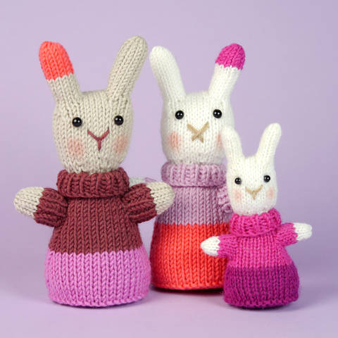 Download Mini Bunnys, Stash Gobblers #04, knitting pattern immediately at Makerist