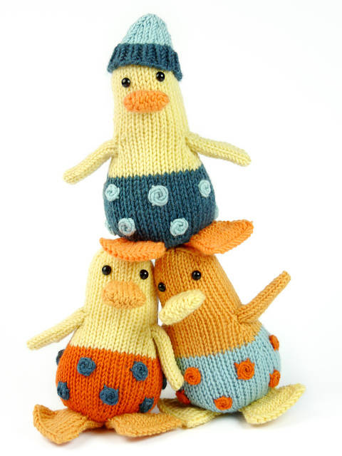 Download Mini Ducklings, Stash Gobblers #05, knitting pattern immediately at Makerist