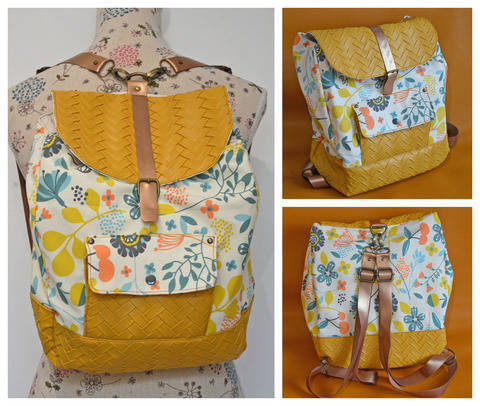 Download The Randie Backpack immediately at Makerist