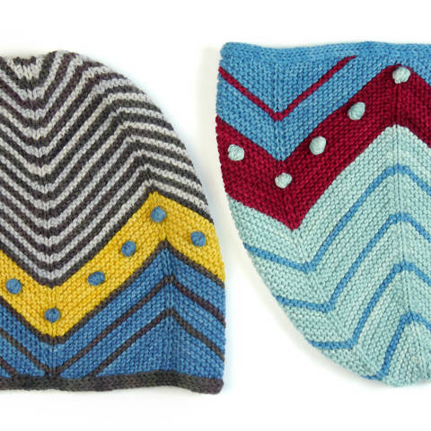 Download Hats / Beanies POTZBLITZ + HAMBURG AHOI knitting pattern immediately at Makerist