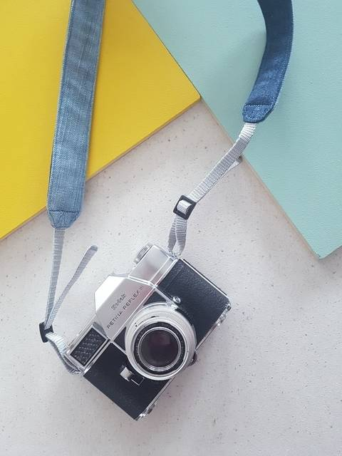Download Denim Camera Strap - detailed sewing and pattern immediately at Makerist