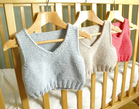 Download Easy baby vest / body warmer immediately at Makerist