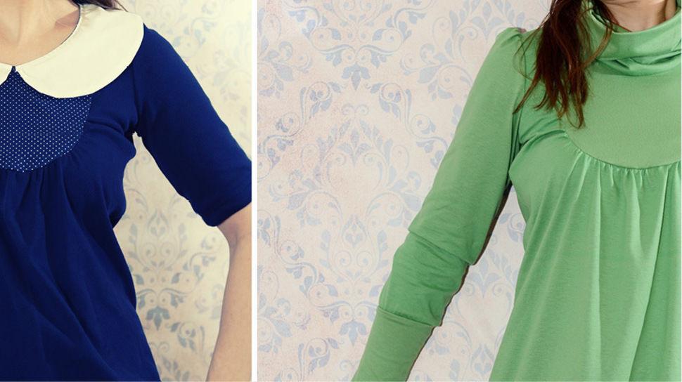 Ebook Kleid Umstandskleid ALBA Gr. 34 - 50 - Nähanleitungen bei Makerist sofort runterladen