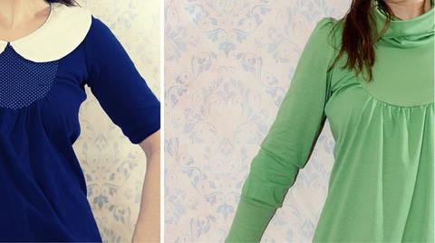 Ebook Kleid Umstandskleid ALBA Gr. 34 - 50 bei Makerist sofort runterladen