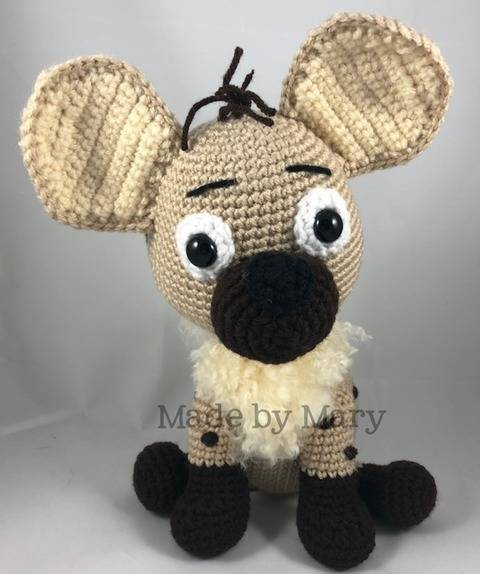 Download Hyena Amigurumi immediately at Makerist