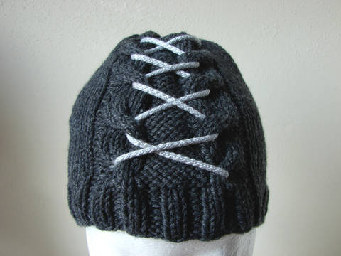 Download Cable hat with lace - kntting pattern immediately at Makerist