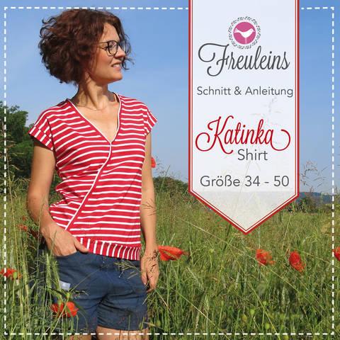 ebook Shirt Katinka in Gr. 34-50 bei Makerist sofort runterladen