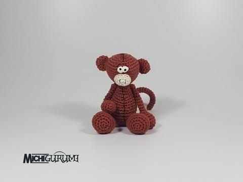 Häkelnleitung_ Mini - Affe bei Makerist sofort runterladen