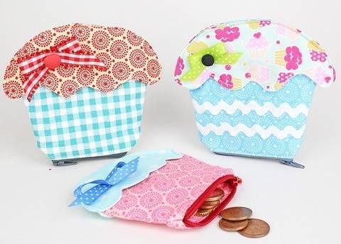 Nähanleitung Cupcake Geldbeutel bei Makerist sofort runterladen