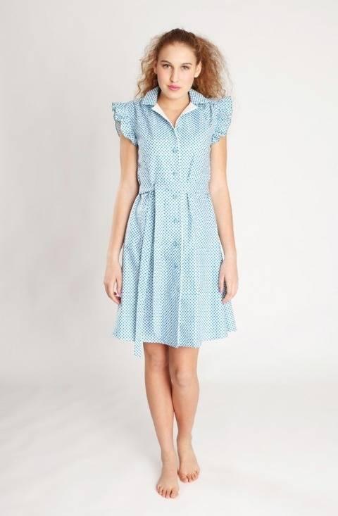 Nähanleitung und Schnittmuster Kleid Franzi bei Makerist sofort runterladen