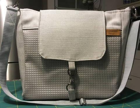 """Anleitung zum Nähen der Tasche """"Rom"""" bei Makerist sofort runterladen"""