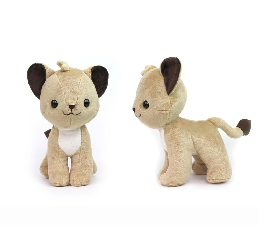 Lion Standing Cat Plush Stuffed Animal Plush Sewing Pattern