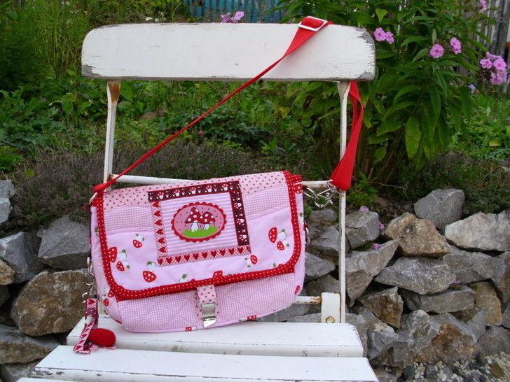 """Anleitung zum Nähen der Kindertasche """"Gretel"""" bei Makerist sofort runterladen"""
