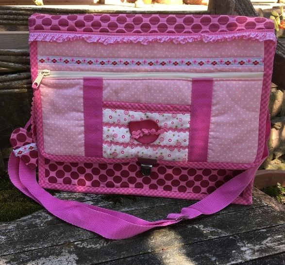 """Anleitung zum Nähen der Kindertasche """"Cinderella"""" bei Makerist sofort runterladen"""