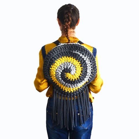 Download The Crochet Spiral Bag immediately at Makerist