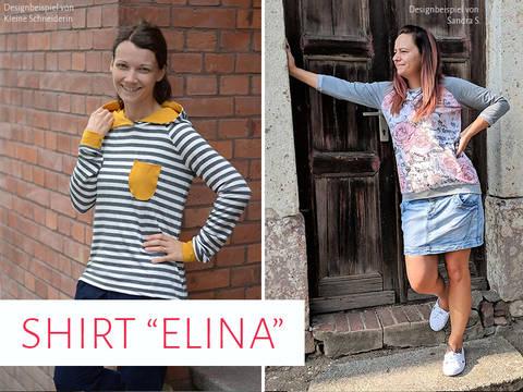 """Shirt """"Elina"""" bei Makerist sofort runterladen"""