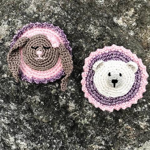 Schulranzen Patches zum kletten Add-on Eisbär und Hase bei Makerist sofort runterladen