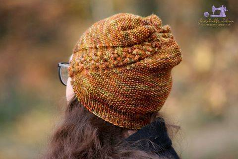 """Trena"" Hat - knitting pattern for fingering weight yarn bei Makerist sofort runterladen"