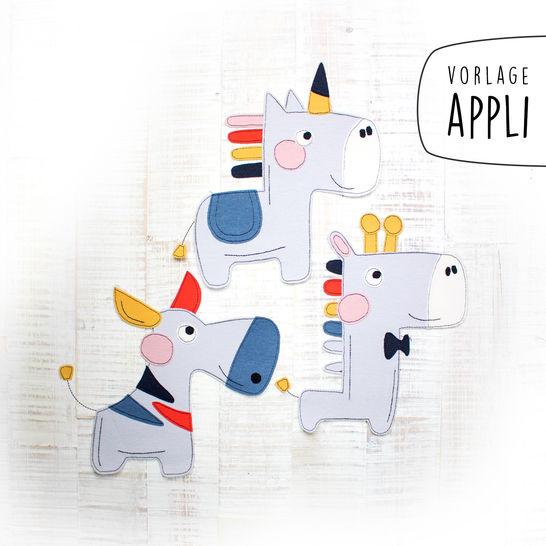 SET DIE FABELHAFTEN Applikationsvorlage bei Makerist sofort runterladen