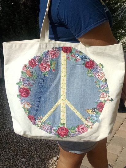 Download Broderie Peace Patch immediately at Makerist