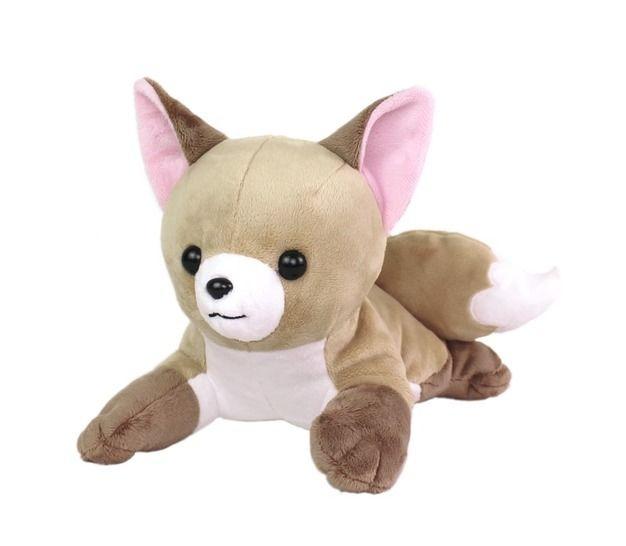 Fox plush plushie stuffed animal toy sewing pattern dog wolf