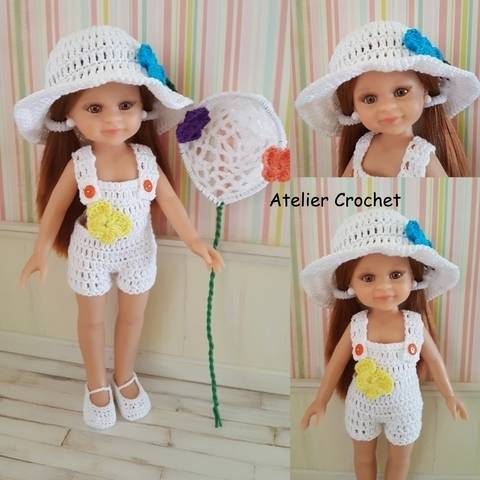 "Download """"Catching Butterflies"" crochet pattern for Paola Reina doll immediately at Makerist"