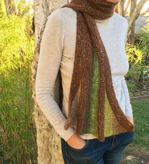 Download Melaleuca Scarf  immediately at Makerist
