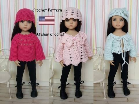 "Download ""Petites Laines"" crochet pattern for Little Darling immediately at Makerist"