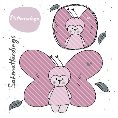 stuffdeluxe Schmetterdings Plottervorlage bei Makerist sofort runterladen