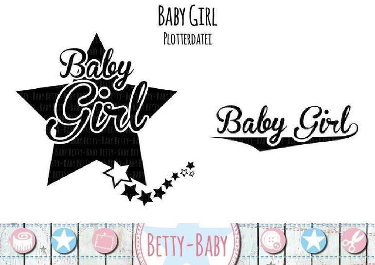 Plotterdatei ★ Baby Girl ★ bei Makerist sofort runterladen